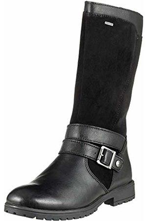 Superfit Girls' Galaxy Snow Boots, (Schwarz Kombi 00)
