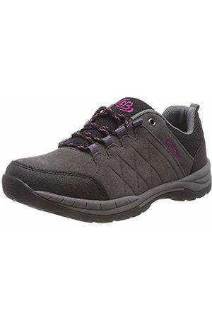 Bruetting Women's Walker Nordic Walking Shoes, Grau/Schwarz/