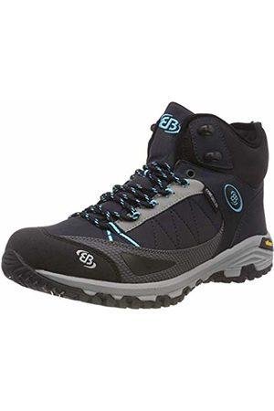Bruetting Women's Castor High Rise Hiking Shoes, Marine/Tuerkis