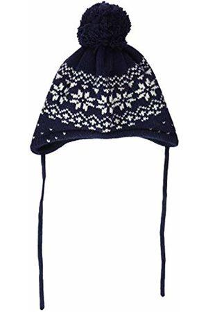 maximo Baby Boys' 85575-263800, Mütze, ausgenäht, Band, Norwegermuster Schneestern Hat