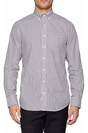 GANT Men's The Broadcloth Banker REG BD Sport Shirt (Persian )
