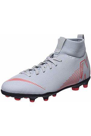 Nike Unisex Kids' Jr Superfly 6 Club Mg Footbal Shoes (Wolf /Lt Crimson/ 060)