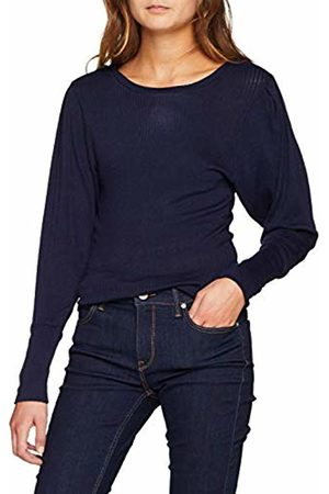 SPARKZ COPENHAGEN SPARKZ Women's Rita O Neck TOP Regular Fit Classic Long Sleeve Long Sleeve Top