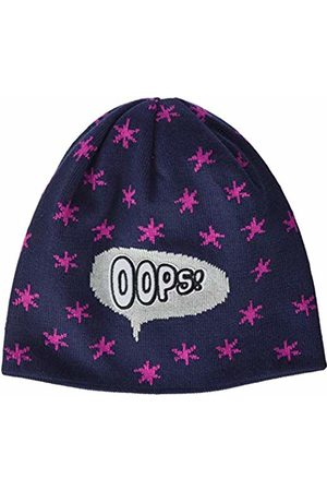 maximo Girls' 83571-355500, Mütze Reflexlabel OOPS, Sterne Hat