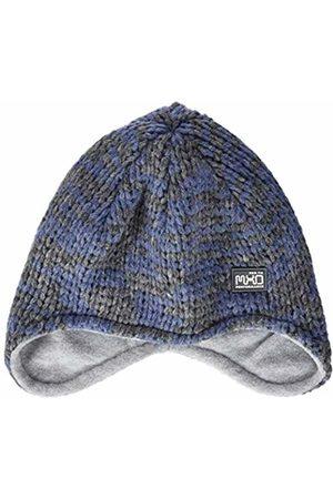 maximo Boys' 83574-258600, Mütze, ausgenäht Hat (Blau Grau Meliert 63)