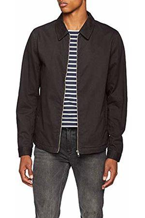 New Look Men's Zip Through Shacket Jacket (Dark )