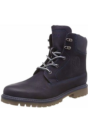 s.Oliver Boys' 5-5-46111-21 805 Snow Boots, (Navy