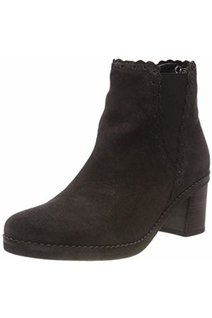 Gabor Shoes Women's Comfort Fashion Ankle Boots Dark- (Micro) 39