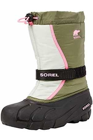 sorel Children Boots, Youth Flurry, (Hiker )/Pink (Bubble-Gum)