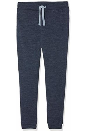 Name It Boy's Nmmwesso Wool SWE Pant W/o Embr Noos Trouser (Dress Blues)