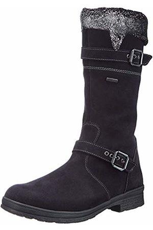 Däumling Women Boots - Women's 200021M High Boots Blue Size: 7.5 UK