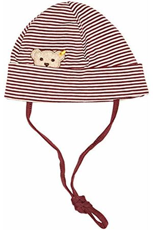 Steiff Baby Boys' Mütze Hat (Burgundy|