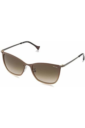 Police Sunglasses Women's SPL191 Rival 11 Wayfarer Sunglasses 53mm