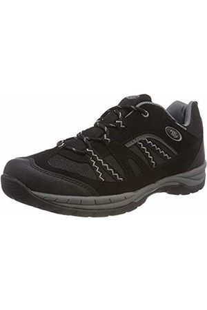 Bruetting Unisex Adults' Fresno Low Rise Hiking Shoes, Schwarz/Grau