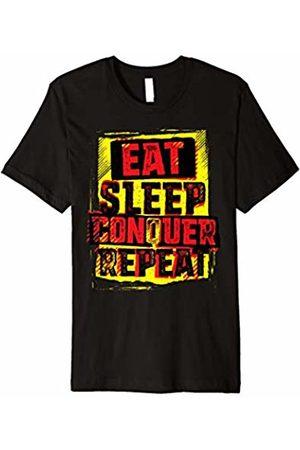 Urban Species WWE Brock Lesnar Stencil Eat Sleep