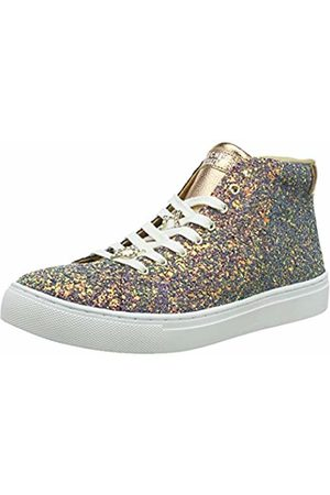 Skechers Girls' SIDESTREET-Night Life Hi-Top Trainers ( Gld)
