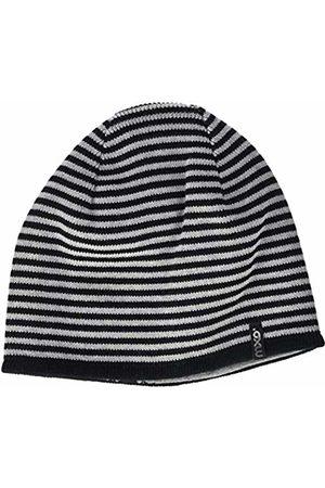 maximo Boys' 83578-207700, Wendebeanie, Ringelstrick, Jersey Fledermaus Hat