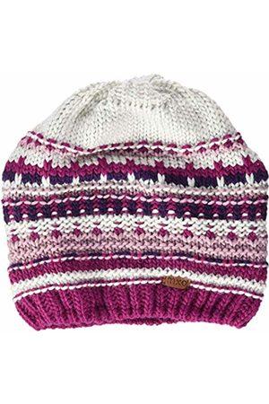 maximo Girls' 83574-249300, Beanie, Struktur-Jacquard Hat