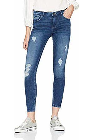Noisy May Women's Nmkimmy Nw Ankle Zip Jeans Az003mb Noos Skinny Medium Denim