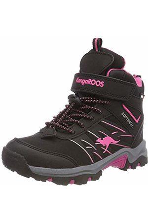 KangaROOS Unisex Kids' K-Rook Snow Boots (Jet /Daisy 5025)
