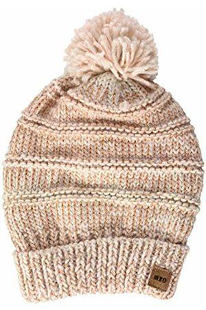 maximo Girls' 83573-860800, Mütze, Umschlag, Lurex, Pompon Hat