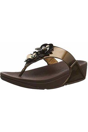 FitFlop Women's LULU Flower Open Toe Sandals