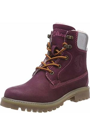 s.Oliver Boys' 5-5-46111-21 531 Snow Boots, (Berry