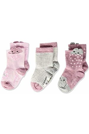 Camano Baby Tights & Stockings - Baby 1106007 Socks (Chalk Melange 4300)