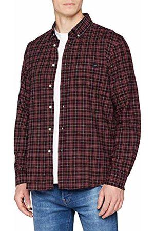 Edwin Men's Standard Shirt Casual (Oxblood OXR67)