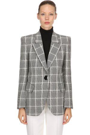 PETAR PETROV Women Winter Jackets - Plaid Cool Wool Blazer
