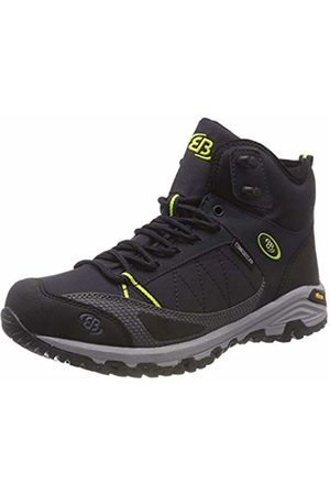 Bruetting Unisex Adults' Castor High Rise Hiking Shoes, Marine/Lemon