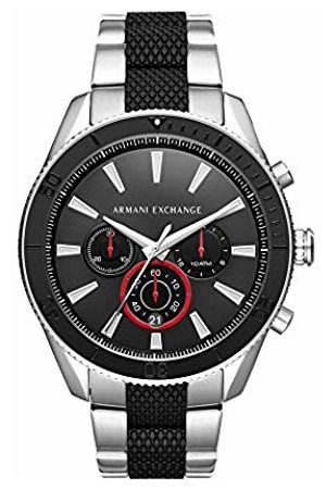 Armani Men's Analogue Quartz Watch with Stainless Steel Strap AX1813