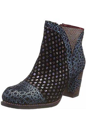 LAURA VITA Women's Anna 1382 Ankle Boots, Bleu