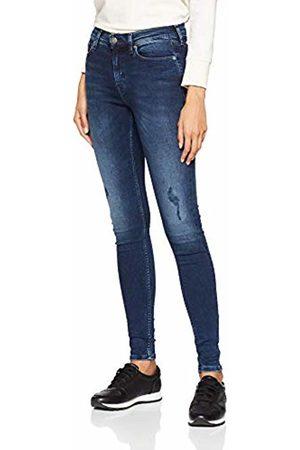 Tommy Hilfiger Women's Mid Rise Skinny Nora Dysdbs Jeans (Dynamic Sea Dark Str 911)