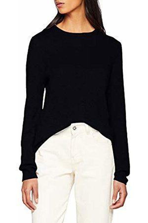 SPARKZ COPENHAGEN Women's Pure Cashmere O-Neck Pullover Jumper, (Navy)
