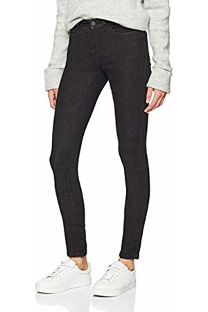 Noisy May Women's Nmlucy Nw S.s. Coffee Jeans Gu009bl Noos Slim