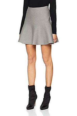 Noisy May Women's Nmcirus Hw Short Knit Skirt Noos Medium Melange