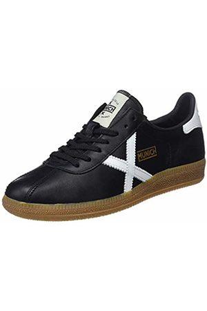 Munich Unisex Adults' Barru Low-Top Sneakers, (Negro/Blanco 30)