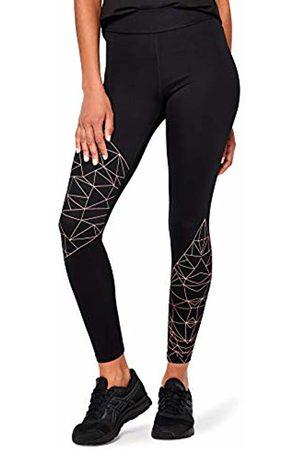 AURIQUE Women's Optic Print Sports Leggings