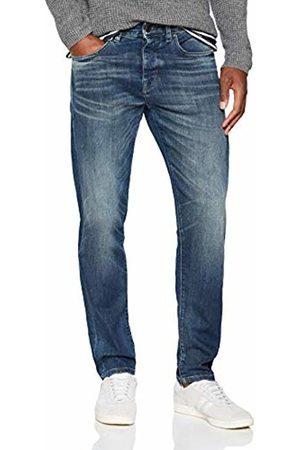 Selected Homme Men's Slhtapered-Toby 6135 D.blu St JNS W Noos Tapered Fit Jeans Dark Denim