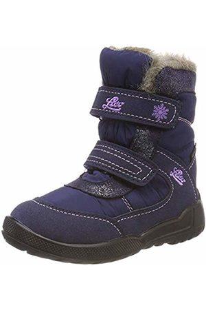 LICO Girls' Meredith V Snow Boots, Marine/Lila