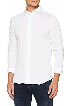 MASSIMO LA PORTA Men's Sport Casual Shirt (Bianco 001)