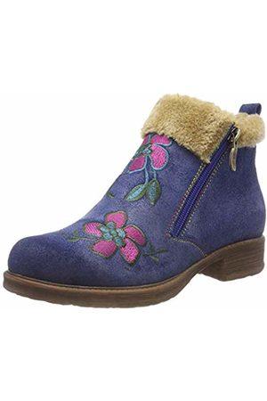 LAURA VITA Women's Anita 50 Ankle Boots, Bleu