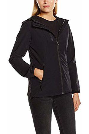 Ilse Jacobsen Women's Shorter Zip Nexk Hooded Long Sleeve Raincoat