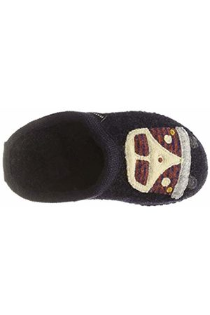 Haflinger Unisex Kids' Bully Walktoffel Open Back Slippers