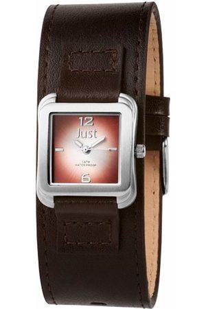 Just Watches Just Women's Quartz Watch with Black Dial Display Quartz ~ 48 S9256 BR