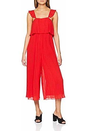 be754f70f1 New Look Women s Pleat Chiffon Jumpsuit (Bright (Manufacturer ...