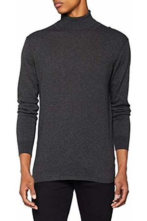 Scotch&Soda Men's Classic Turtle Neck Pullover in Soft Cotton Quality Jumper