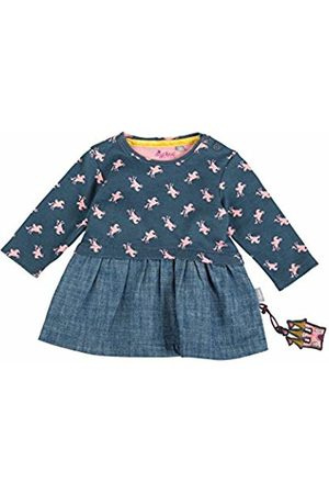 sigikid Girls' Jeans Kleid, Baby Dress