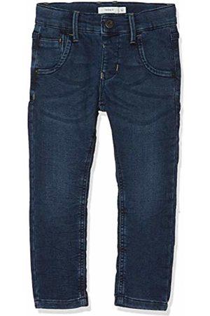 Name it Boy's Nkmbabu Dnmtyrell 3121 SWE Pant Noos Jeans Dark Denim